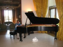 Tuning a Yamaha Concert Grand at the French Embassy