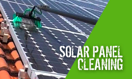 Solar Panel Cleaning with Pure Water