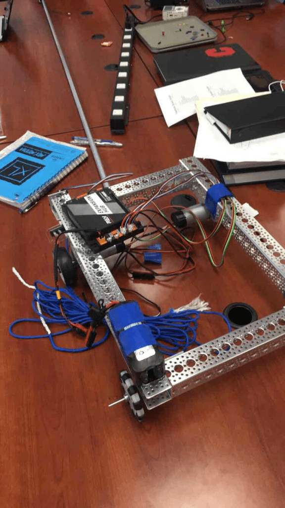 A test robot used for testing program