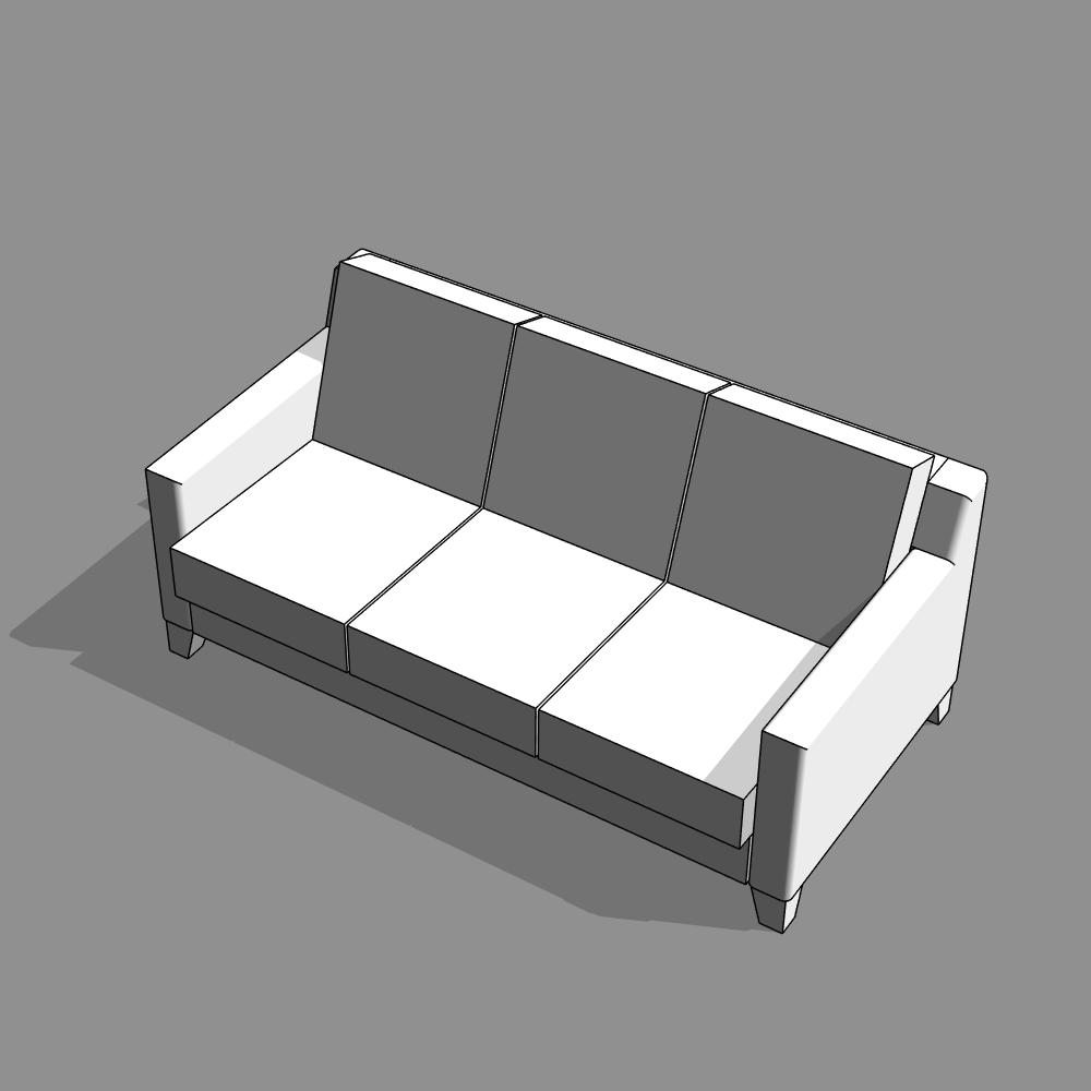 Orr 3 Seater Sofa | كابيتالز