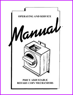 Antares Rotary Coin Mechanisms Operating and Service Manual