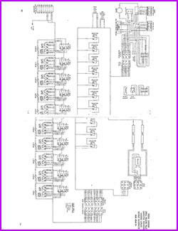 Cavalier schematic for models C10 300-220. 390M-260, 480M