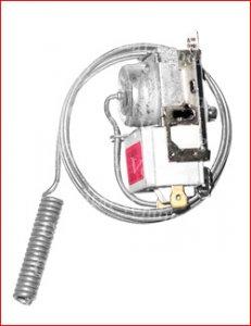 Thermostat for DN bottle drop vendors