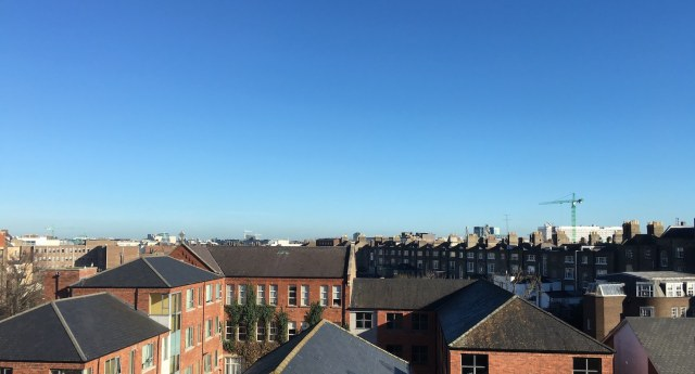 Dublin Skyline from leeson street