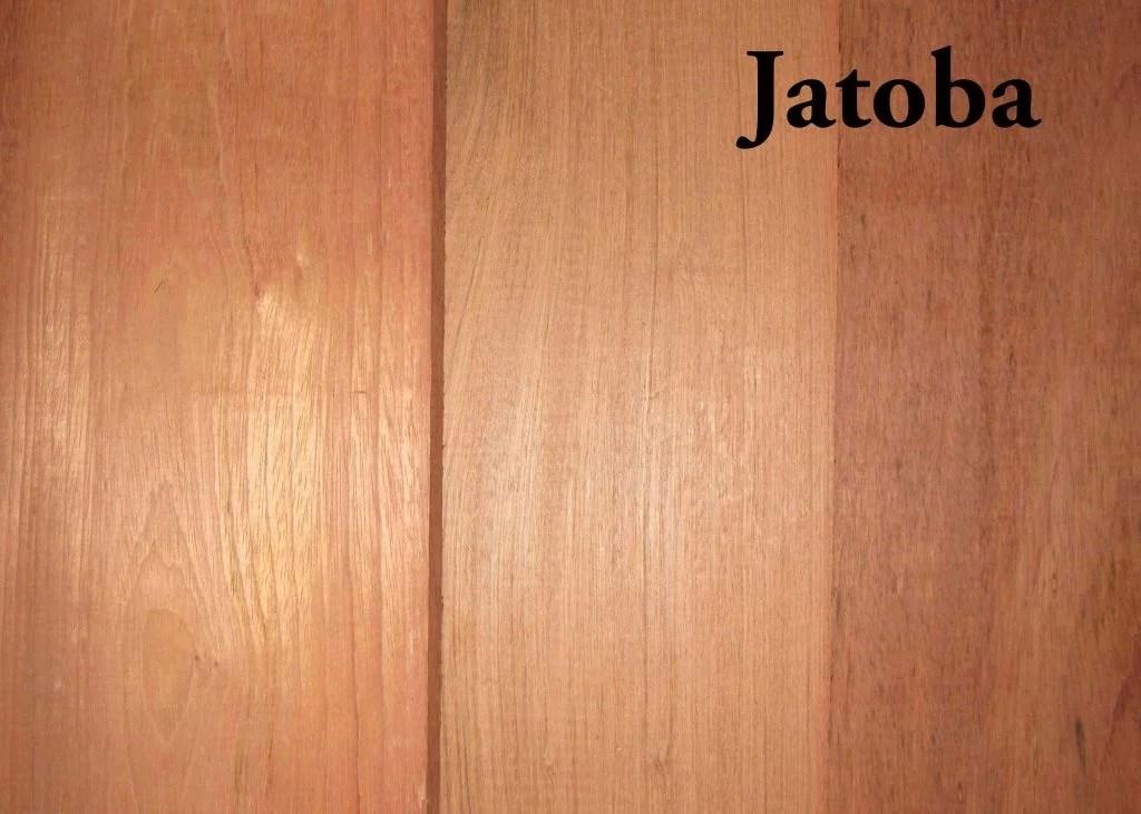 Jatoba Brazilian Cherry Hardwood S4S  Capitol City Lumber