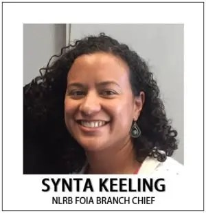 Synta Keeling FOIA Branch Chief NLRB