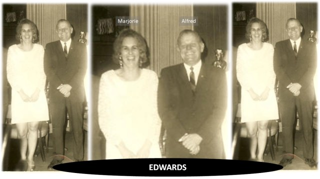 Marjorie Coleman Edwards and Alfred Caughy Edwards