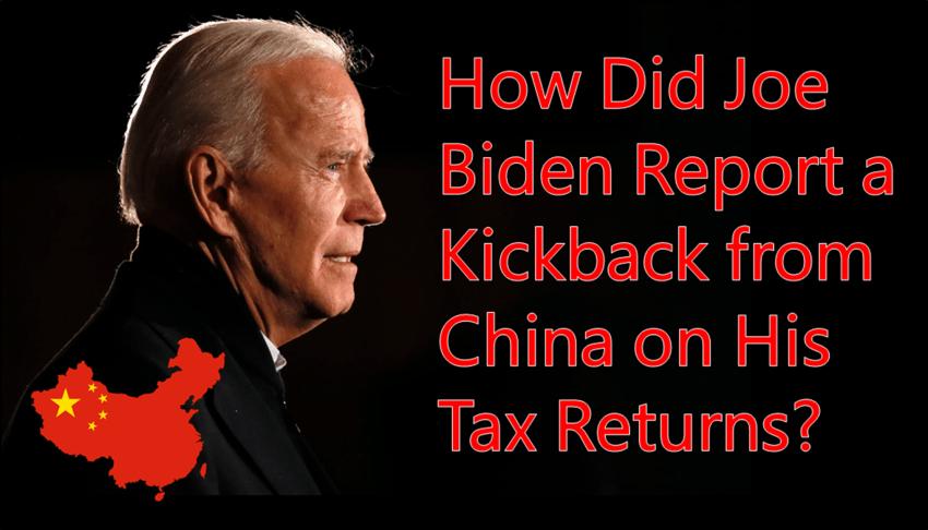 Kickback Joe Biden China