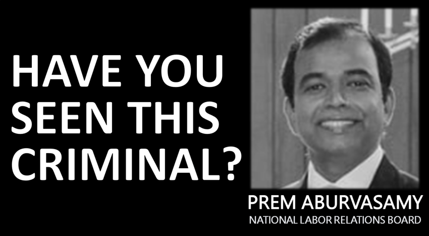 Prem Aburvasamy - National Labor Relations Board