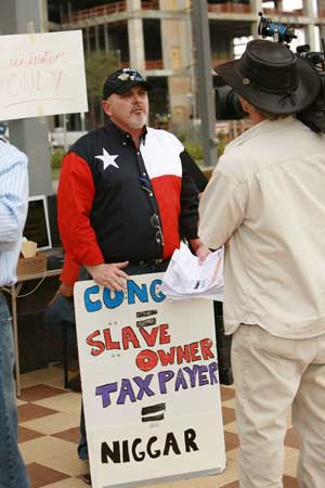 Texas Tea Party organizer Dale Robertson
