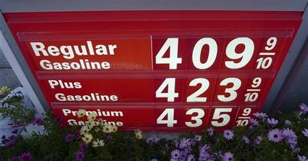 Gas prices in California (REUTERS/Gary Hershorn)
