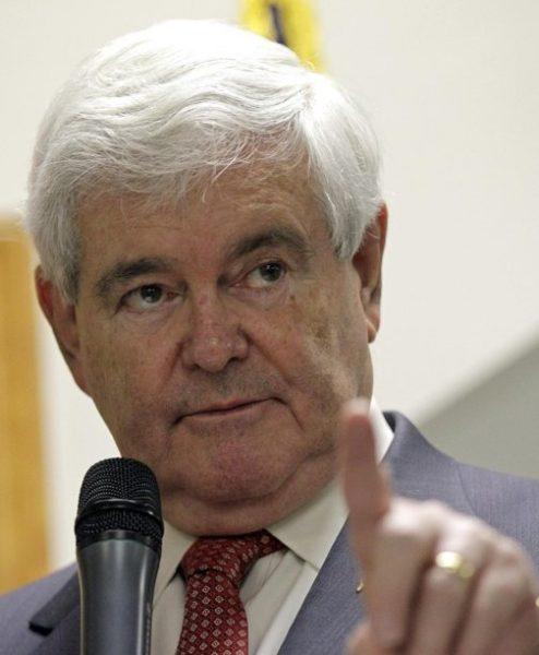 Newt Gingrich: His affairs cost him. (AP Photo/Chuck Burton)