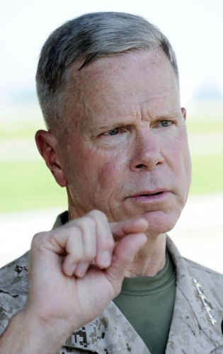 Gen. James Amos, head of the Marine Corps (AP)