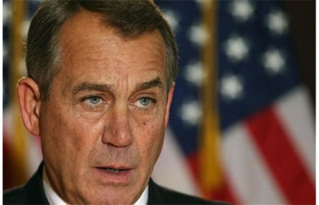 "Speaker of the House John Boehner:  ""I was where last night?"""