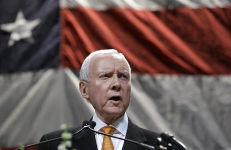 Sen. Orrin Hatch. (AP Photo/Rick Bowmer)