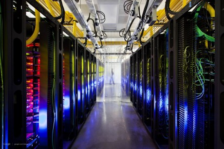 Network room with data sought by government