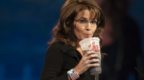 Sarah Palin:  Returning to only news channel that will take her seriously.