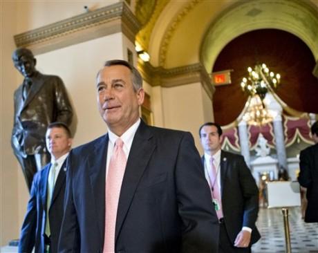Speaker of the House John Boehner.  (AP Photo/J. Scott Applewhite)