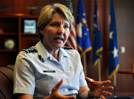 Lt. Gen. Michelle Johnson (AP)