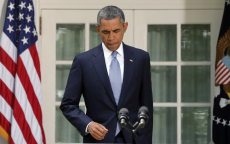 President Barack Obama: Now what? (AP/Charles Dhrapak)