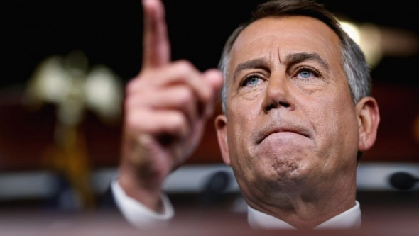 Defiant John Boehner: We get what we want or else!