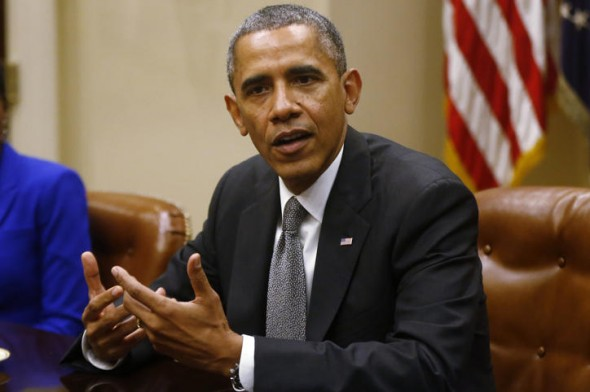 President Barack Obama: Another meeting, another try. (AP/Charles Dharapak)
