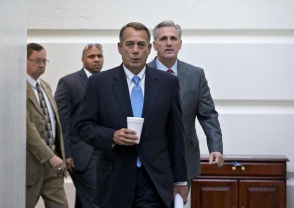 House Speaker John Boehner: No excitement over new plan (AP)