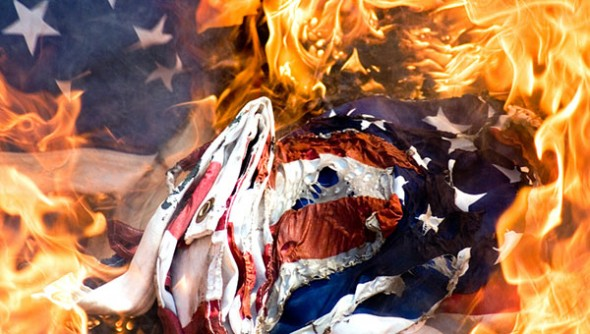 The fire from within that threats to consume America.
