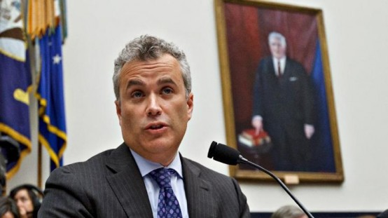 Jeffrey Zients testifies on Capitol Hill in Washington. President Barack Obama is calling Zients to help correct problems with the new federal health care website. (AP Photo/J. Scott Applewhite, File)