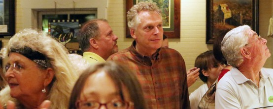 Terry McAuliffe (Capitol Hill Blue photo by Doug Thompson)