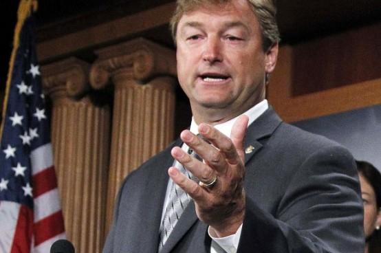 Sen. Dean Heller, R-Nev. (AP Photo/Manuel Balce Ceneta)