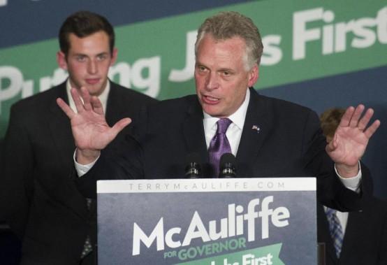 Virginia governor-elect Terry McAulife (AP/Cliff Owen)