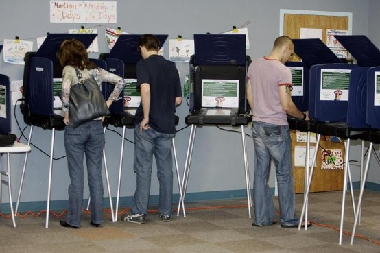 Voting down education (ROBERT SULLIVAN/AFP/Getty Images)