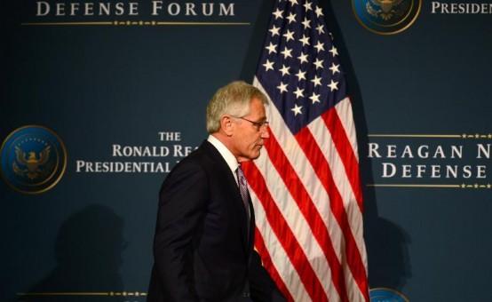 Defense Secretary Chuck Hagel (AFP/Frederic J. Brown)