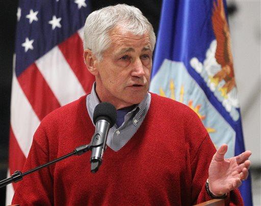 Defense Secretary Chuck Hagel.  (AP Photo/Wyoming Tribune Eagle, Blaine McCartney)