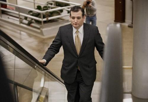 Tea Party zealot Sen. Ted Cruz of Texas. (AP Photo/J. Scott Applewhite)