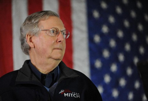 Kentucky Sen. Mitch McConnell  (AP Photo/Stephen Lance Dennee, File)
