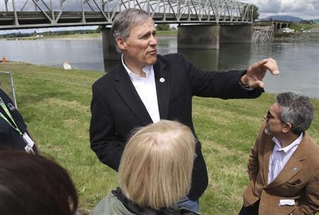 Washington State Governor Jay Inslee. (REUTERS/Cliff DesPeaux)