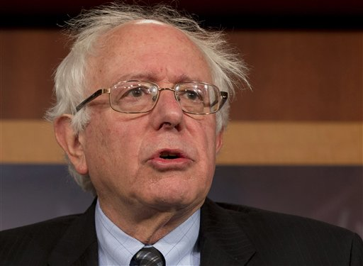 Sen. Bernie Sanders. (AP Photo/Jacquelyn Martin)