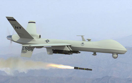 A deadly American drone.