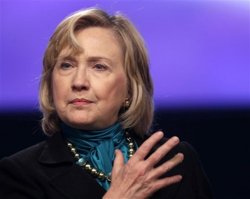 Hillary Rodham Clinton (AP Photo/Gerald Herbert)
