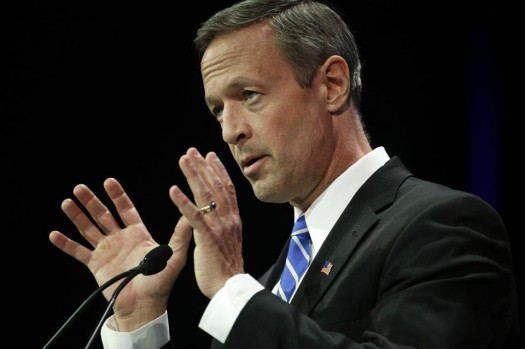 Maryland Gov. Martin O'Malley (AP Photo/Jae C. Hong)
