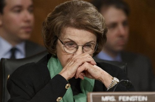 Senate Intelligence Committee Chair Sen. Dianne Feinstein.  (AP Photo/J. Scott Applewhite)