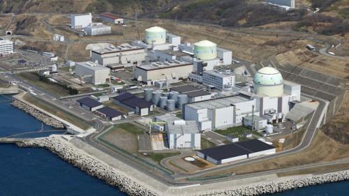 Japanese nuclear power plant