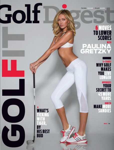 Golf Digest cover with Paulina Gretsky (Walter Iooss Jr./Golf Digest)