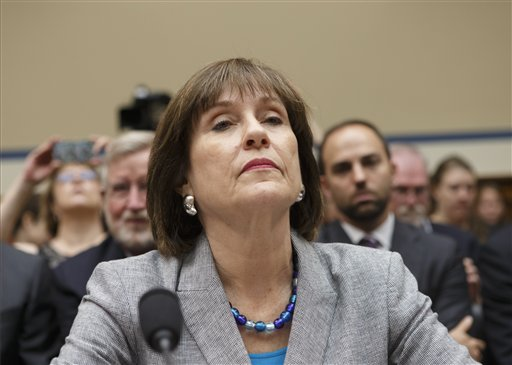 FILE - In this May 22, Former Internal Revenue Service official Lois Lerner.  (AP Photo/J. Scott Applewhite)