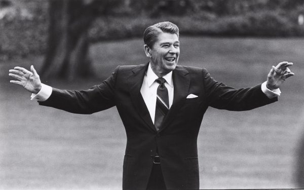 Former President Ronald Reagan (REUTERS/Joe Marquette)