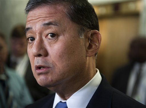 Veterans Affairs Secretary Eric Shinseki  (AP Photo/Cliff Owen)