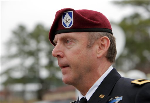 Brig. Gen. Jeffrey Sinclair    (AP Photo/Ted Richardson)