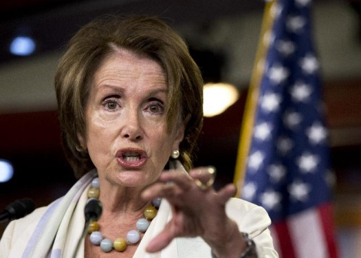 House Minority Leader Nancy Pelosi of Calif.  (AP Photo/Manuel Balce Ceneta)